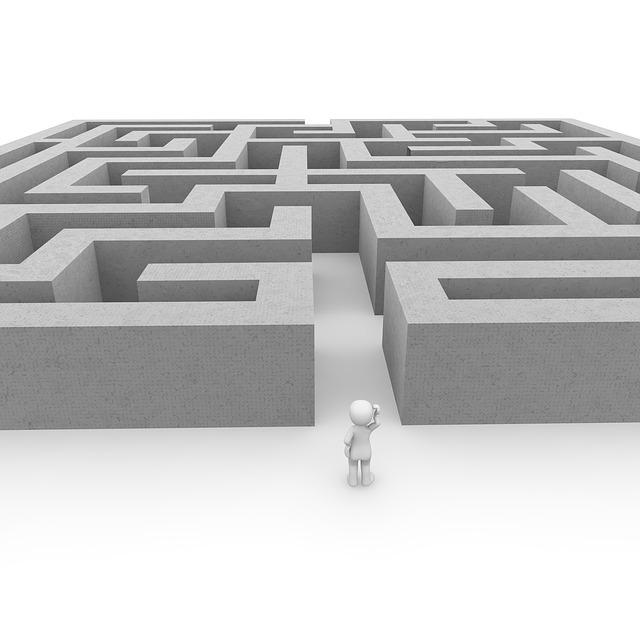 panáček a labyrint