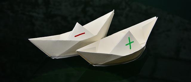 lodě z papíru