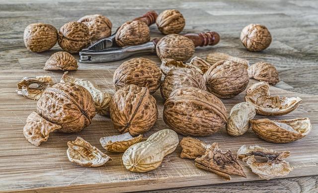 ořechy a buráky