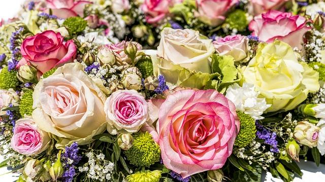 míchaná květina