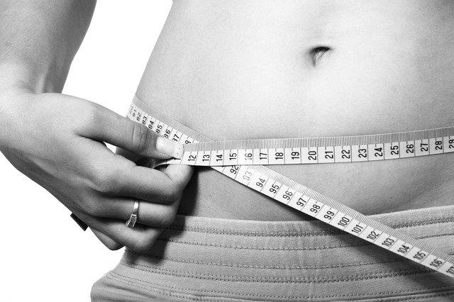 měření obvodu břicha